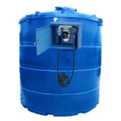 Cuve AdBlue en PE de 9400 litres avec pompe (220V) - double paroi
