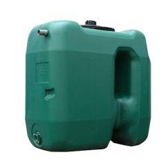 Citerne à eau de pluie rectangulaire aérienne - jumelable - 1000 litres