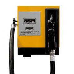 Pompe diesel 220V (80-100 L/M) avec compteur - Fermée - Jaune