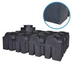 Unité d'infiltration en plastique ultraplate - 5000 litres