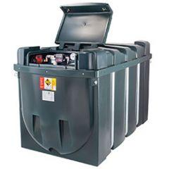 Cuve mazout en PE de 2500 litres avec pompe diesel (220V)