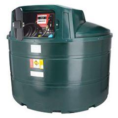 Cuve mazout en PE de 3500 litres avec pompe diesel (220V)