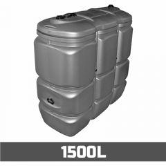 Citerne à mazout PE: 1500 litres - UV-résist - aérienne double paroi