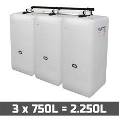 cuves à mazout 2250 litres