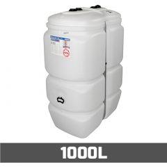 Cuve à mazout PE: 1000 litres standard - aérienne double paroi
