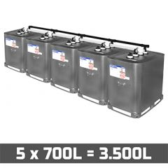 Cuves mazout 3500 litres