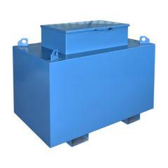 Cuve chantier en acier - 1500 litres - avec ou sans pompe