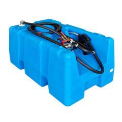 Cuve chantier PE-HD - 200 litres - modèle ouvert - avec ou sans pompe