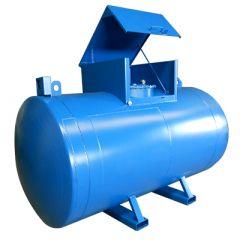 Cuve chantier en acier - 3000 litres - avec ou sans pompe