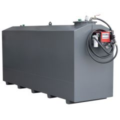 Cuve à mazout avec pompe diesel - 7300 litres