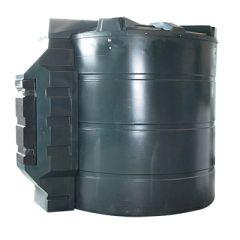 Cuve mazout en PE de 9400 litres avec pompe diesel (220V) - montée dans l'armoire