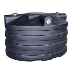 Fosse septique ronde en plastique (PE) à enterrer de 4000 litres