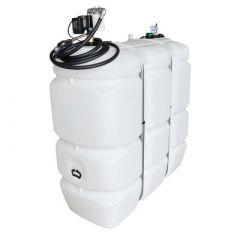 Cuve fioul polyéthylène de 1500 litres avec pompe gazole (220V)