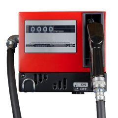 Pompe diesel 220V (60-80 L/M) avec compteur - Fermée