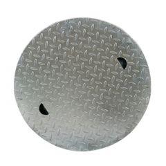 Couvercle en acier 600 mm   pour citerne d'eau à enterrer NORDIC, NAUTILUS & BELUGA