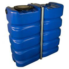 Citerne eau de pluie rectangulaire aérienne - Eau potable - 2400 litres