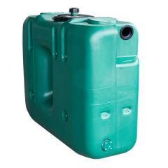 Citerne à eau de pluie rectangulaire aérienne - jumelable - 1500 litres