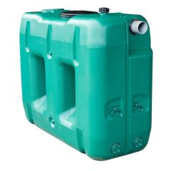 Citerne à eau de pluie rectangulaire aérienne - jumelable - 2000 litres