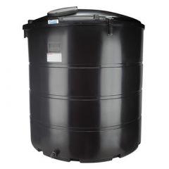 Citerne eau aérienne ronde - 6250 litres - avec trou d'homme
