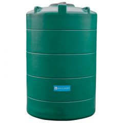 Citerne eau aérienne ronde - 3000 litres - Vert (Ø 1,40 m)