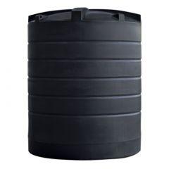 Citerne eau aérienne ronde - 12000 litres (Ø 2,40 m)