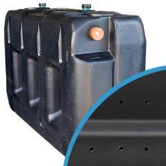 Puits perdu/unité d'infiltration rectangulaire à enterrer en plastique de 3000 litres