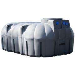 Citerne d'eau de pluie bas - 7.100 litres