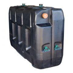 Citerne eau à enterrer (rectangulaire) en polyéthylène de 3000 litres