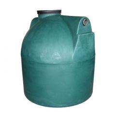 Citerne à eau de pluie souterraine ronde en PE de 3000 litres
