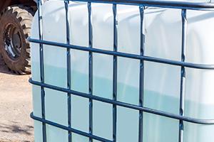 Cuve blanc-transparant